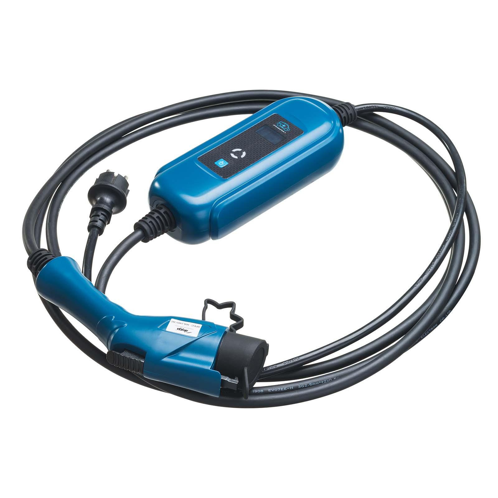tipo 2 al tipo 1 16A Coche eléctrico//ev Cable de carga Mitsubishi Outlander 10m