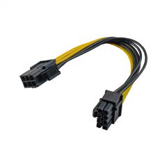 Adaptador PCI Express 6-pin M/ 6+2-pin F AK-CA-07